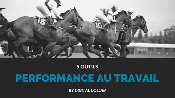 performance au travail comme une course à cheval
