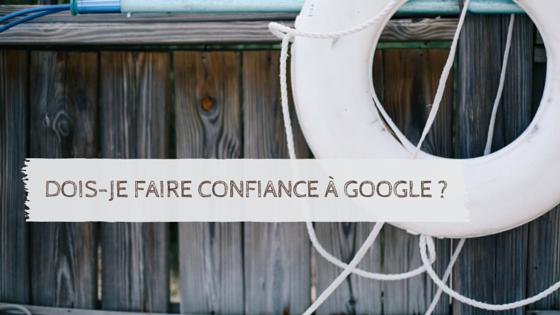 google apps fiable et confiance