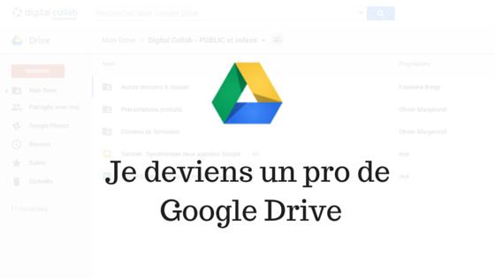 expert formation formateur Google Drive