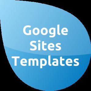 Templates Google sites