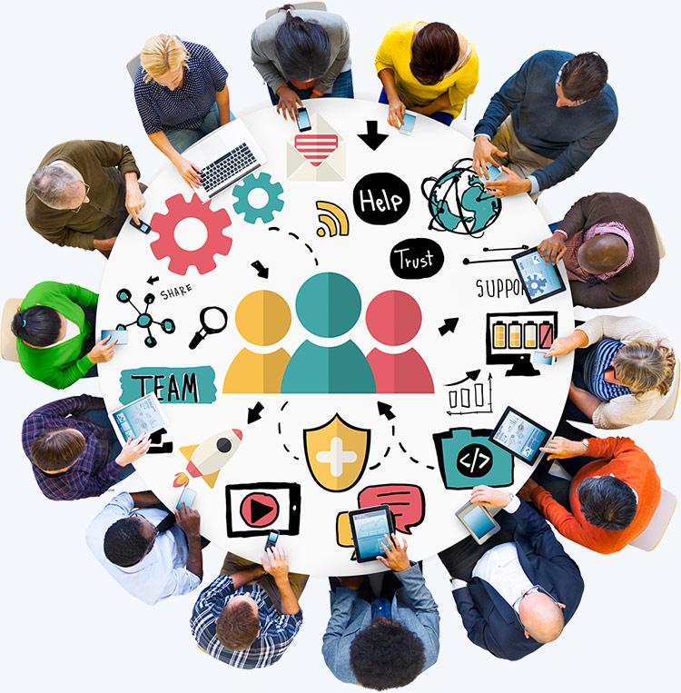 Simplifions la collaboration au travail avec les outils mobiles & web