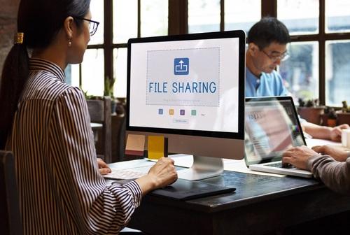 Partage de fichiers en entreprise